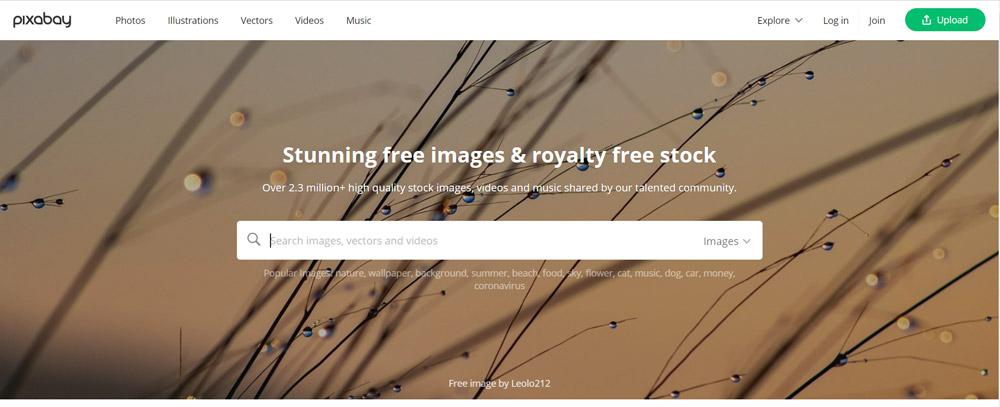 foto's voor je blog - Pixabay